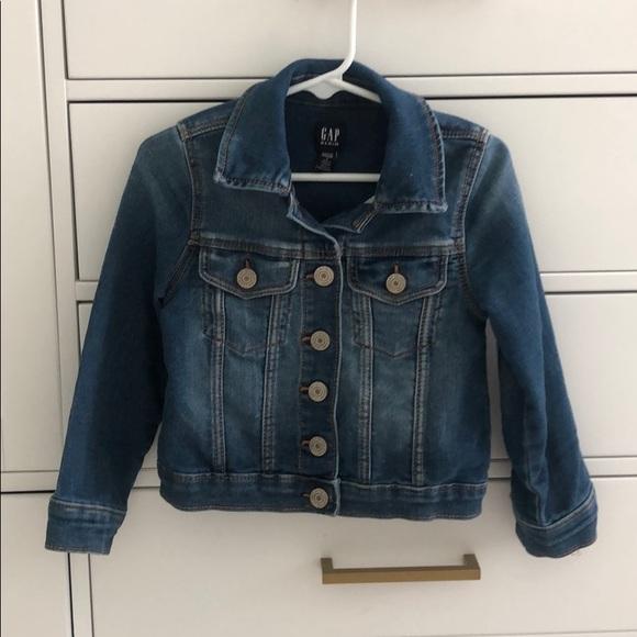 GAP Other - Gap blue jean jacket girls size 4T
